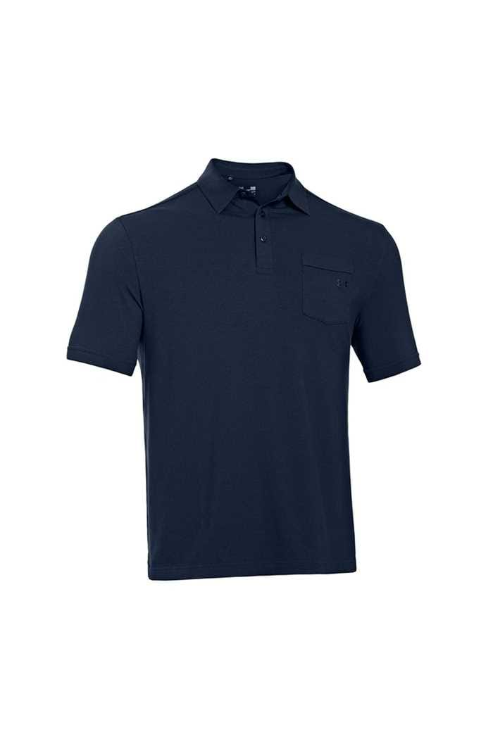 Picture of Under Armour UA Charged Cotton Polo Shirt - Academy 408