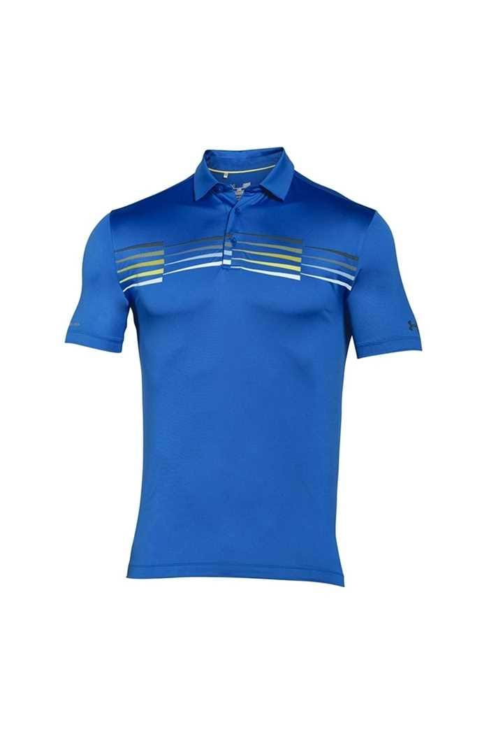 Picture of Under Armour ZNS UA  Coldblack Ace Graphic Polo - Deep Blue 907
