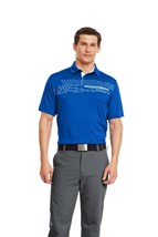 Picture of Under Armour UA Graphic Polo Shirt - Blue 486