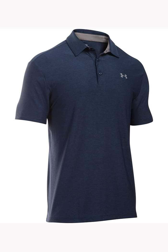 Picture of Under Armour UA Playoff Polo Shirt - Blue Heather 408