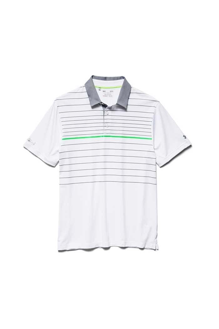 Picture of Under Armour zns UA Coldblack Hammer Polo Shirt  - White 100