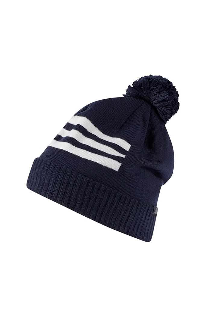 Picture of adidas  zns 3 Stripes Pom Beanie - Collegiate Navy