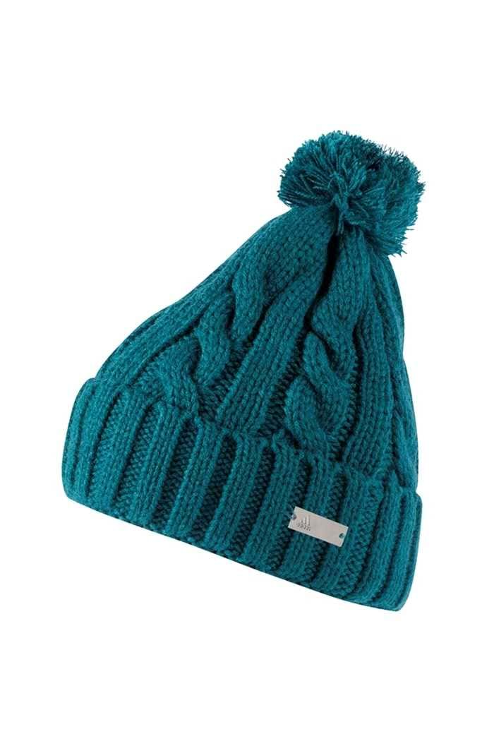 Picture of adidas zns  Solid Pompom Beanie - Mystery Green