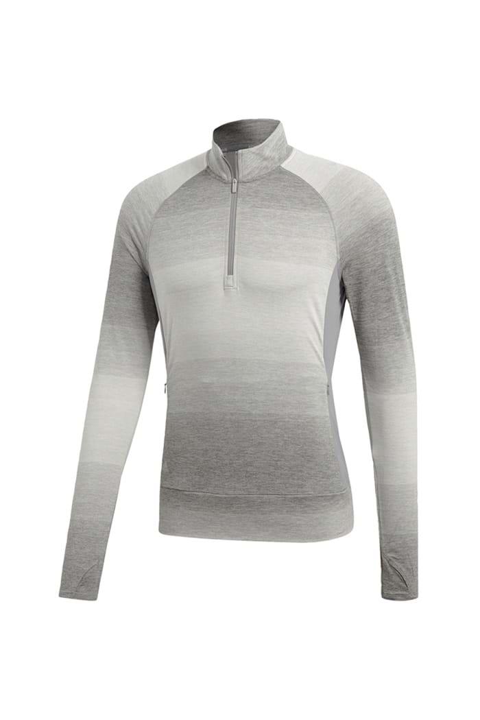 138b0a4a230db7 adidas Ladies Range Wear 1 2 Zip Pullover - Grey Three - adidas ...