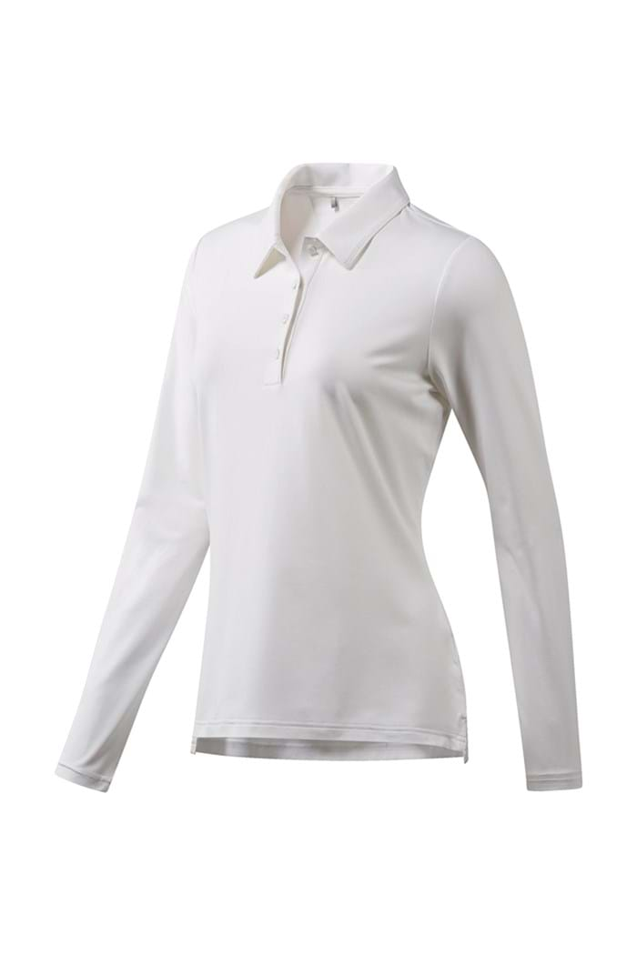 Picture of adidas Ultimate 365 Long Sleeve Polo Shirt - White