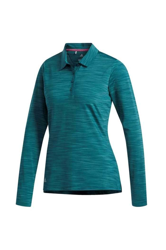 Picture of adidas zns Ultimate 365 Long Sleeve Polo Shirt - Mystery Green
