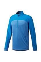 Picture of adidas Go To Adapt 1/4 Zip Sweater - Bright Blue / Fresh Splash