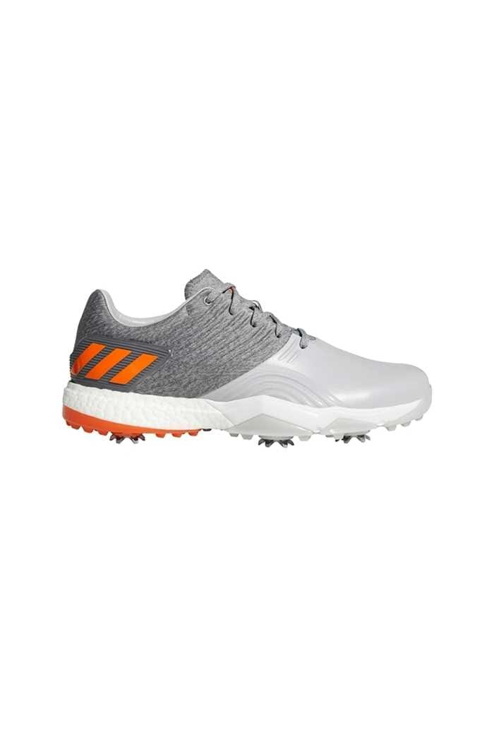Picture of adidas ZNS AdiPower 4Orged Golf Shoes - Grey 2 / Grey 4 / Orange