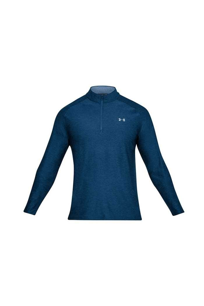 Picture of Under Armour zns  UA Playoff 1/4 Zip Midlayer - Navy 409