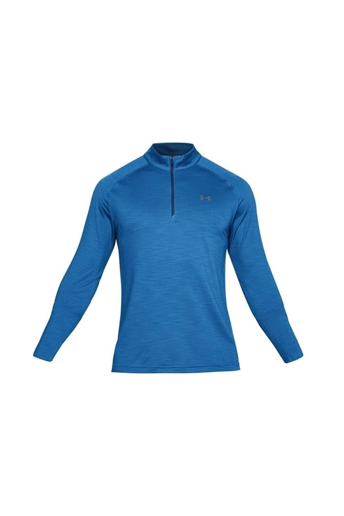 Picture of Under Armour UA Playoff 1/4 Zip Midlayer - Blue 437