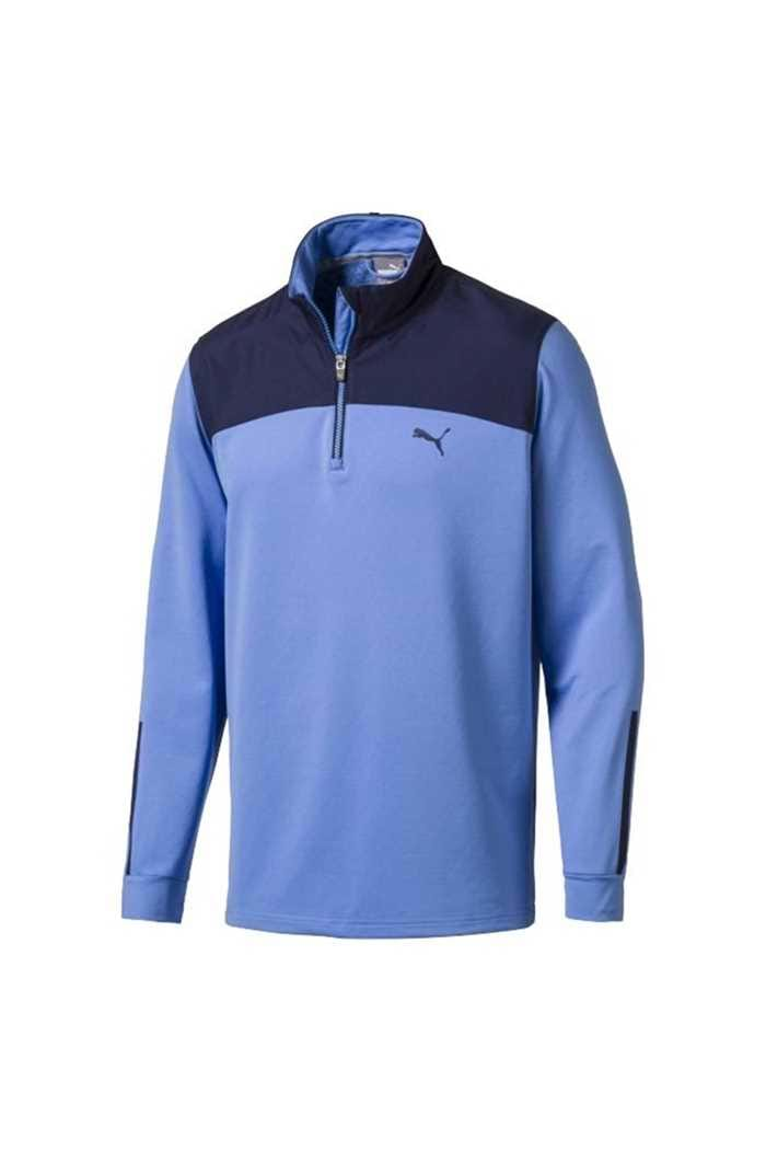 Picture of Puma Golf PWRWarm 1/4 Zip Popover - Marina