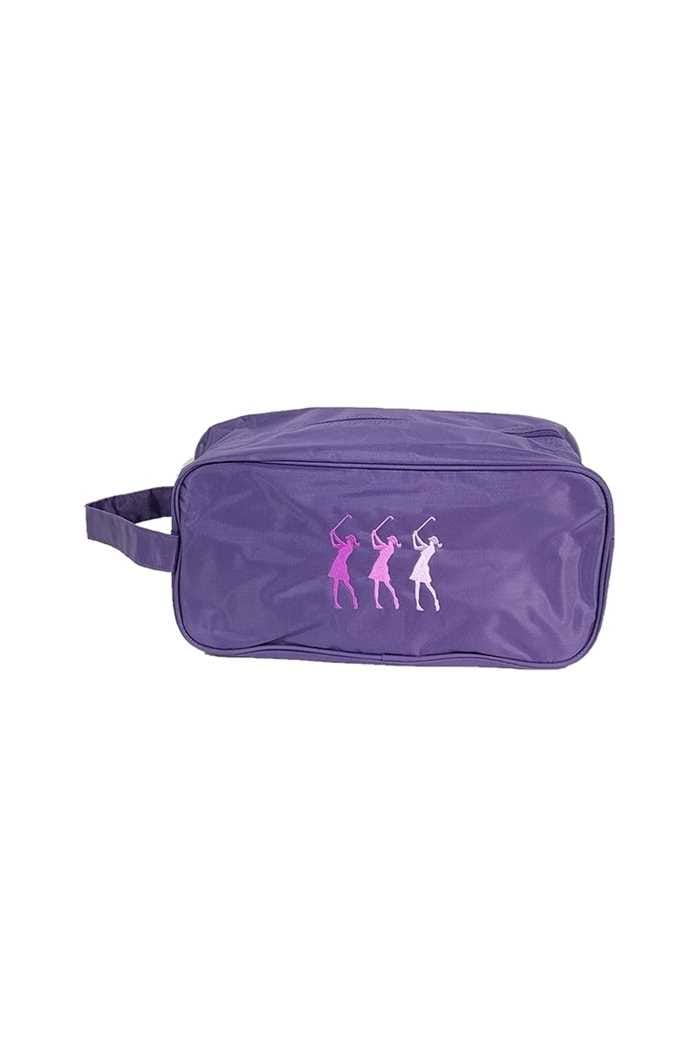 Picture of Surprizeshop zns Embroidered Shoe Bag - Purple