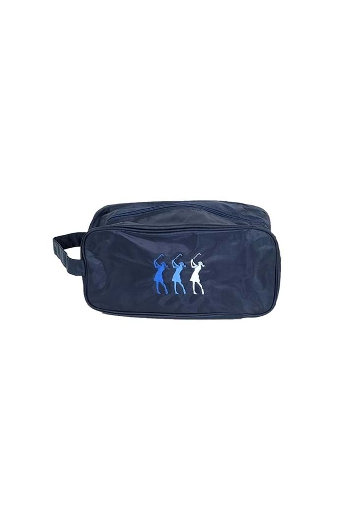 Picture of Surprizeshop Embroidered Shoe Bag - Navy