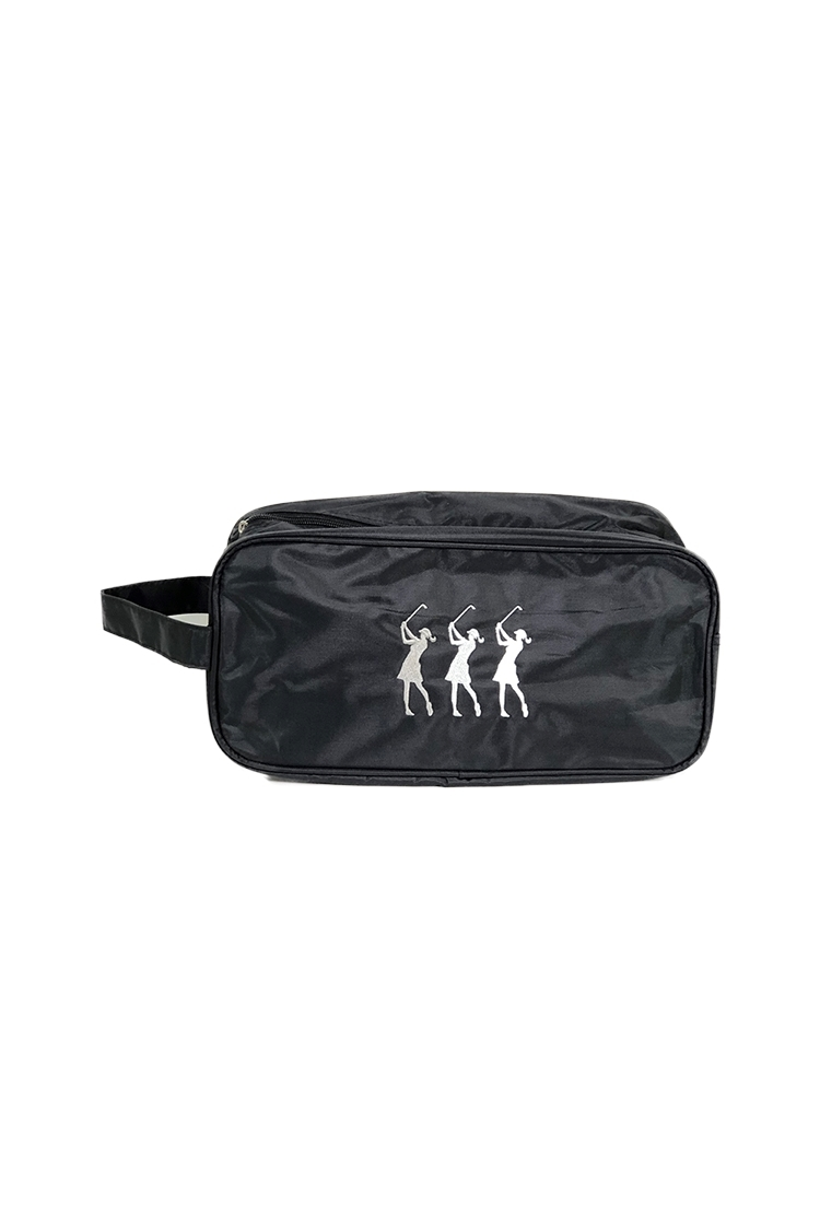 Picture of Surprizeshop Embroidered Shoe Bag - Black