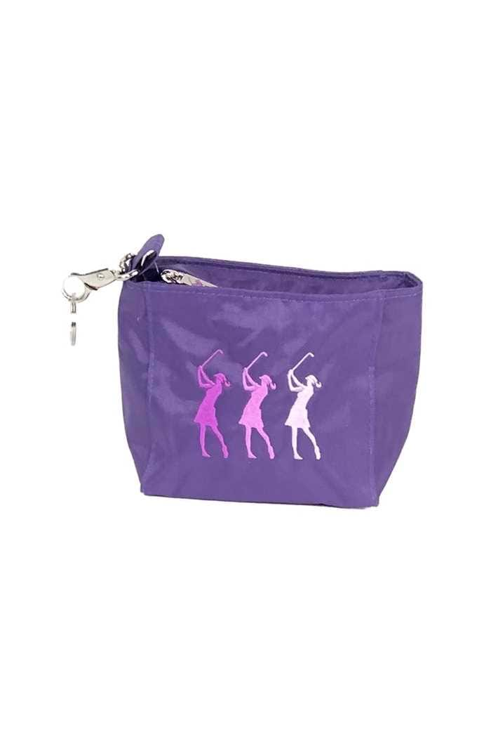 Picture of Surprizeshop zns  Embroidered Lady Golf Handbag - Purple