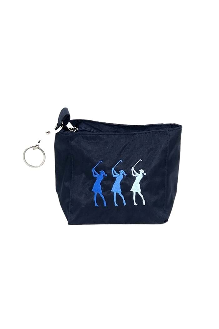 Picture of Surprizeshop zns Embroidered Lady Golfer Handbag - Navy