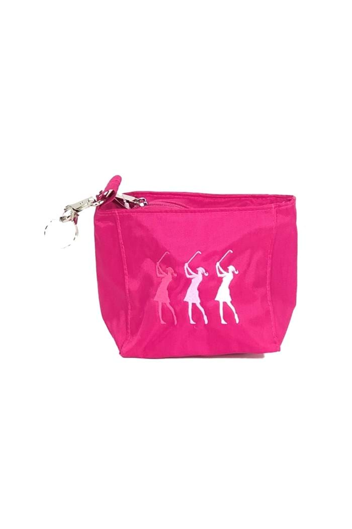Picture of Surprizeshop ZNS Embroidered Lady Golfer Handbag - Pink