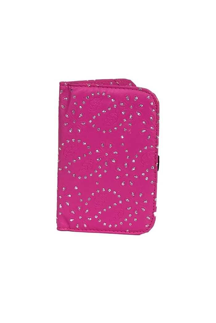 Picture of Surprizeshop Hot Pink Glitter Flower Scorecard Holder - Pink