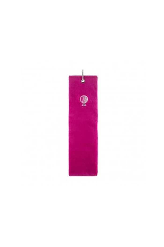Picture of Surprizeshop ZNS Tri-fold Golf Towel - Hot Pink