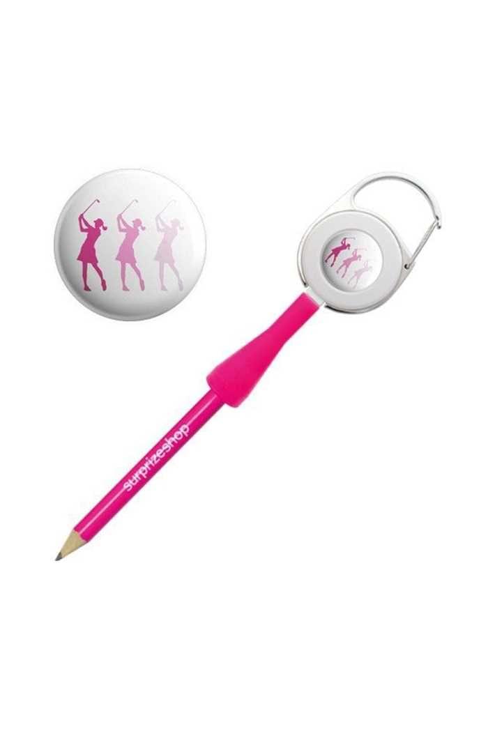 Picture of Surprizeshop zns Retractable Pencil - Pink Golfer