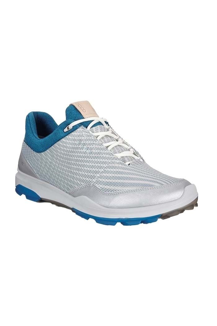 Picture of Ecco Golf Men's Hybrid 3 Golf Shoes - White / Olympian Blue