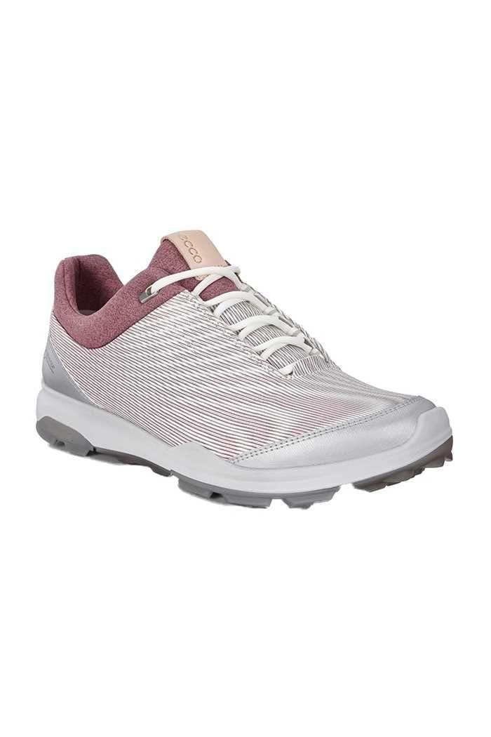 Picture of Ecco Golf Ladies Biom Hybrid 3 Goretex Golf Shoes - White / Black Transparent