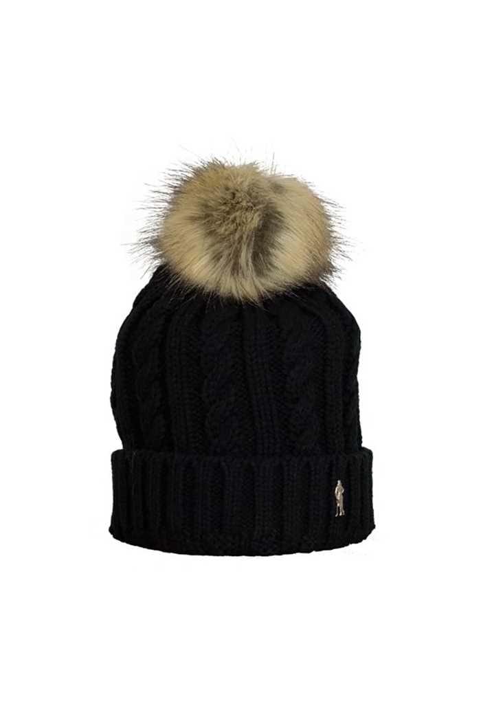 Picture of Surprizeshop Bobble Hat - Black