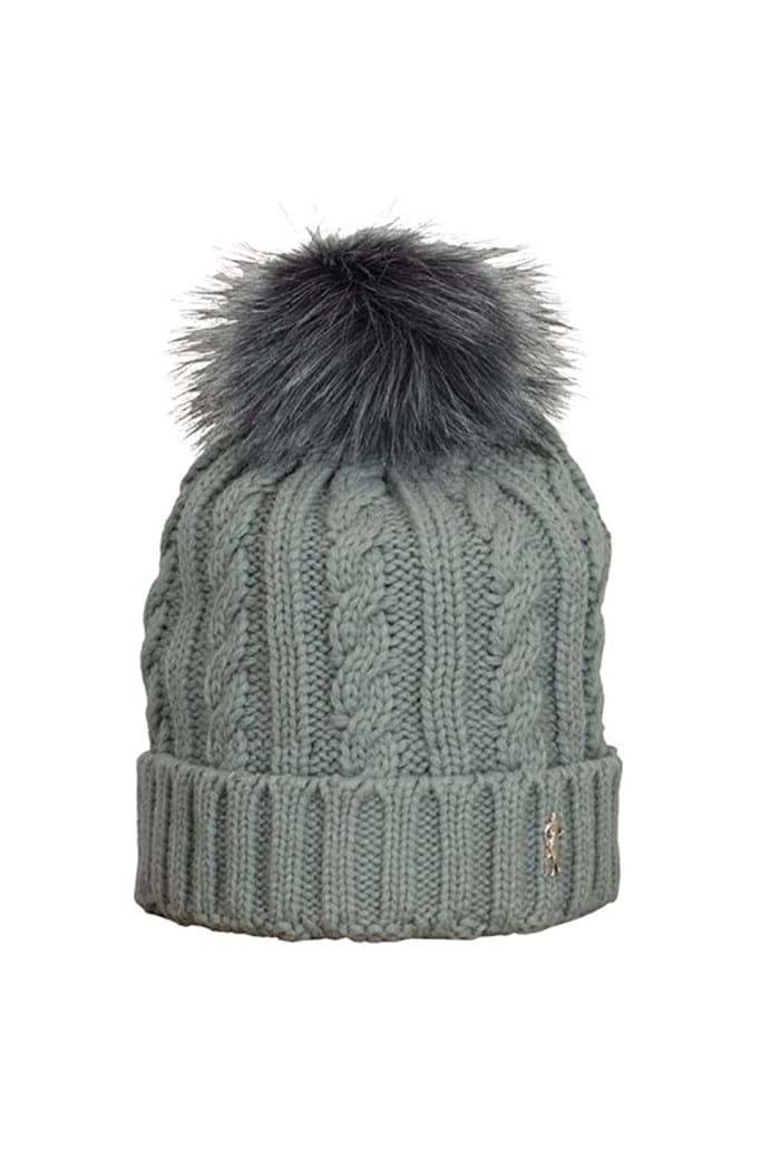 Surprizeshop Ladies Winter Bobble Hat - Grey - Surprizeshop - Eureka ... 699cf27b71b