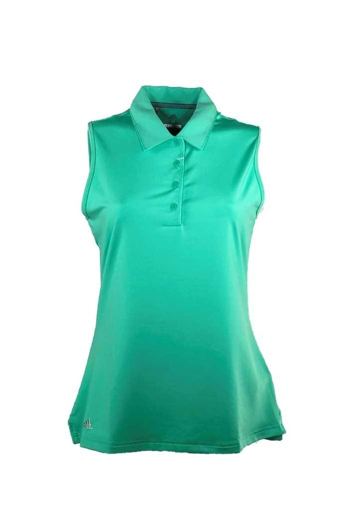Picture of adidas ZNS Ultimate 365 Sleveless Polo Shirt - Hi Res Green