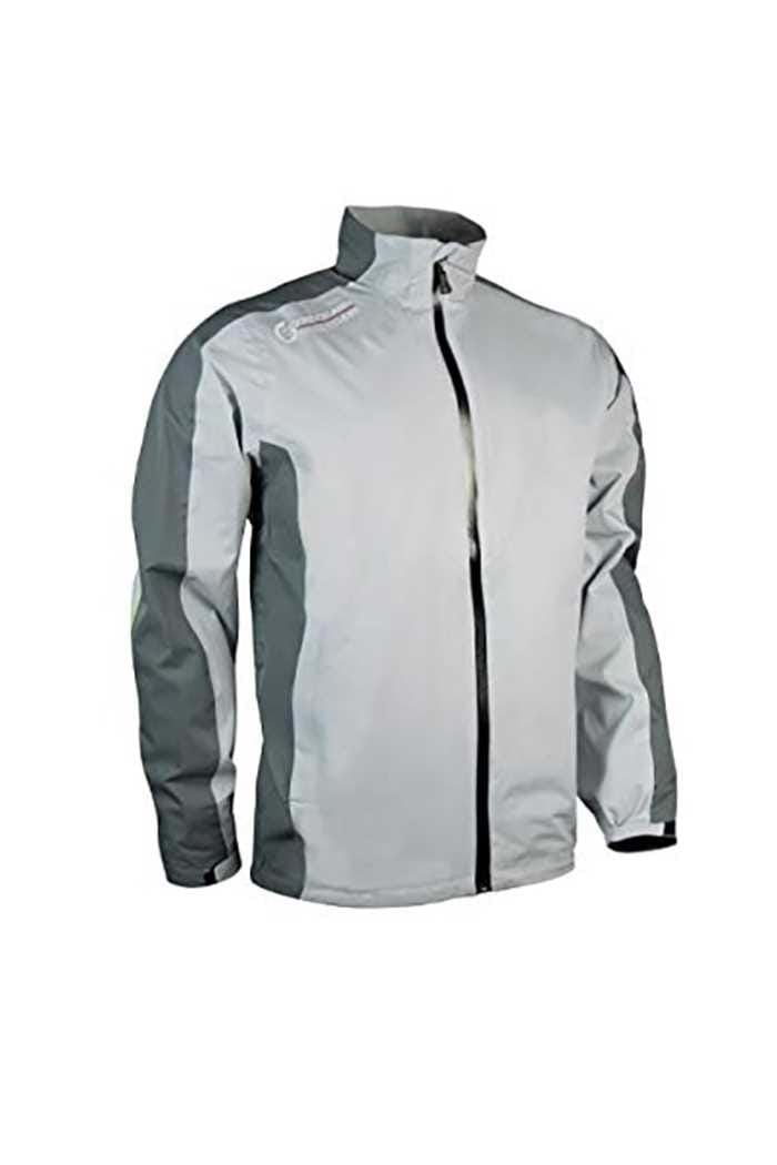 Picture of Sunderland of Scotland Vancouver Waterproof Jacket - Silver / Gunmental / Lime