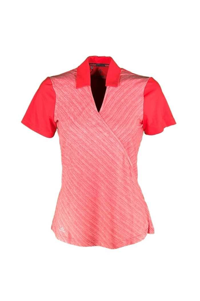 Picture of adidas Novelty Polo Shirt - Real Coral