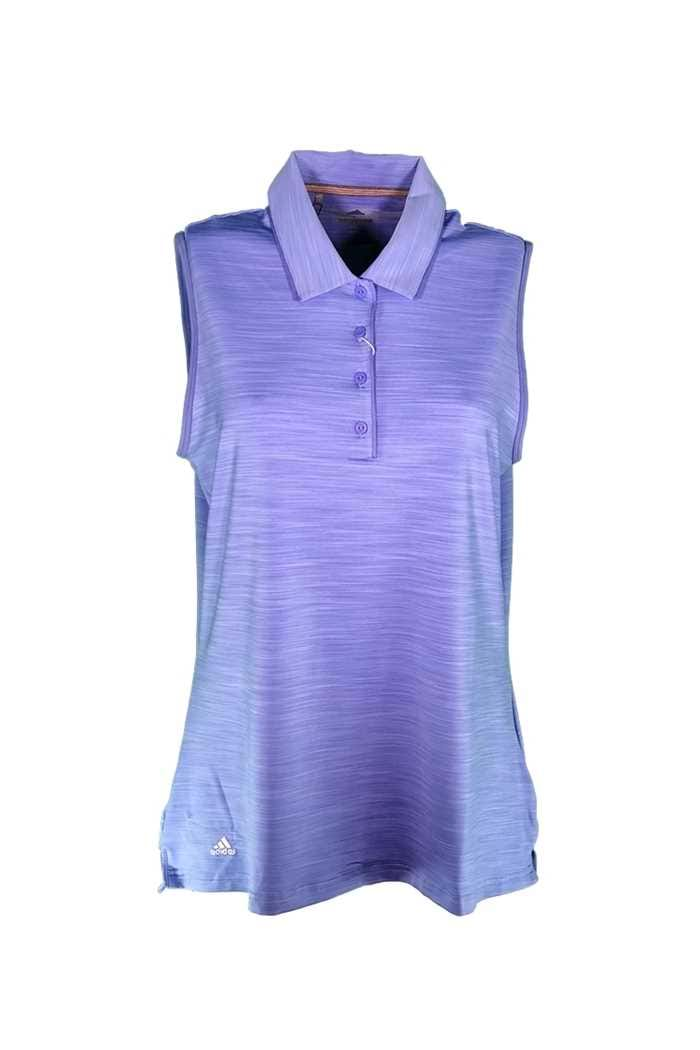 Picture of adidas zns  Ultimate 365 Sleeveless Polo Shirt - Chalk / Purple