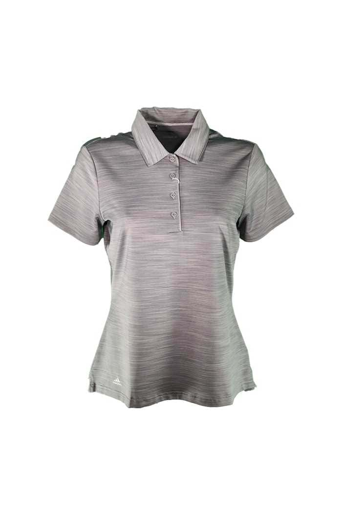 Picture of adidas zns Ultimate 365 Short Sleeve Polo Shirt - Grey Three
