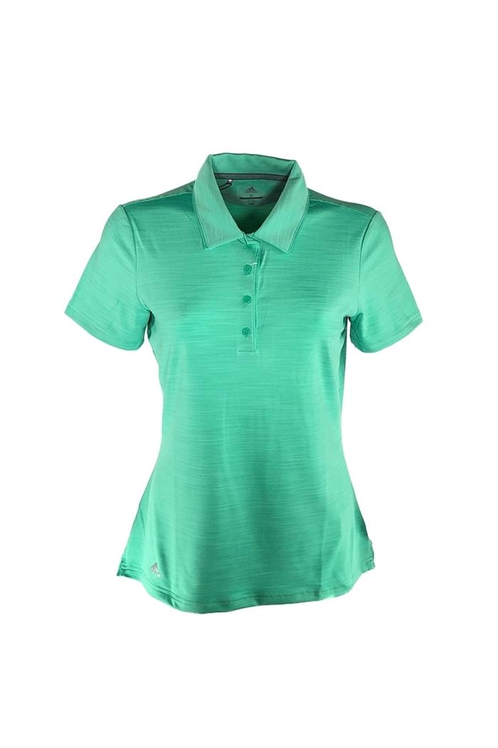 fina artesanía venta al por mayor 100% genuino adidas Ladies Ultimate 365 Short Sleeve Polo Shirt - Hi-Res Green ...