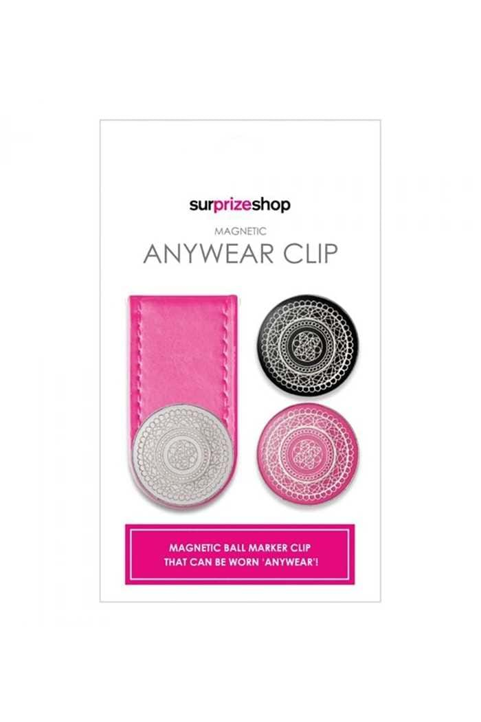 Picture of Surprizeshop Anywear Ball Marker Clip - Pink