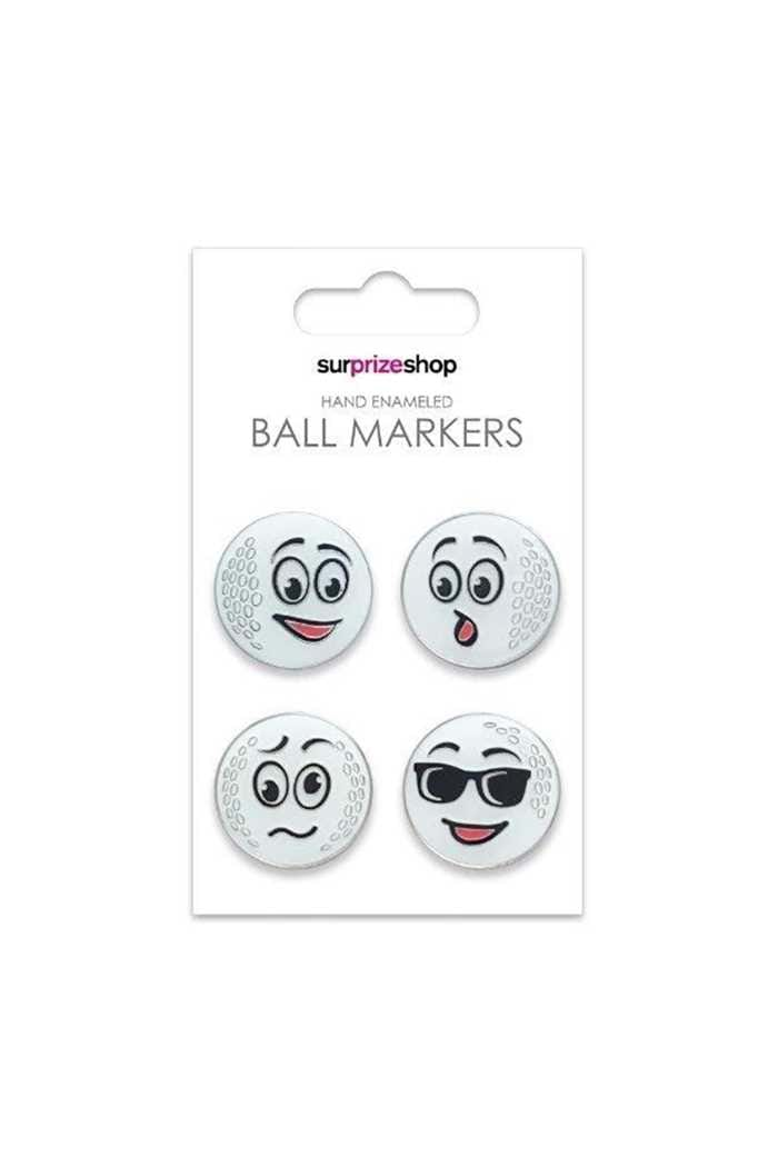 Picture of Surprizeshop Ball Markers - It's a Funny Old Game Set