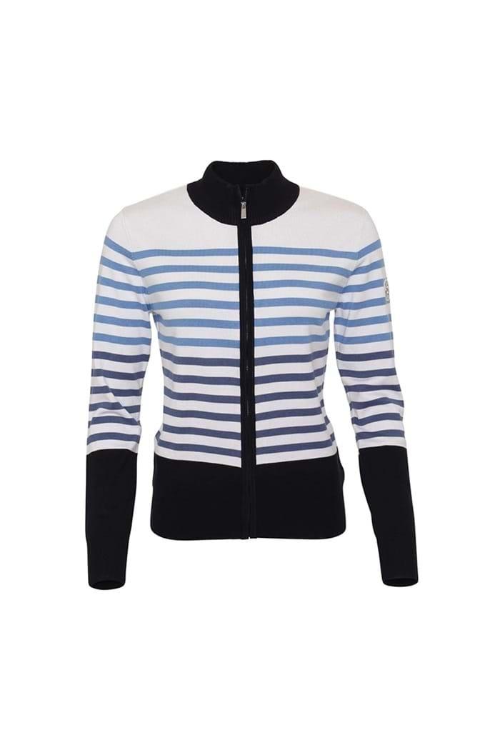 5117760f5093e Daily Sports Ladies Svea Cardigan - Navy - Daily Sports - Eureka Golf