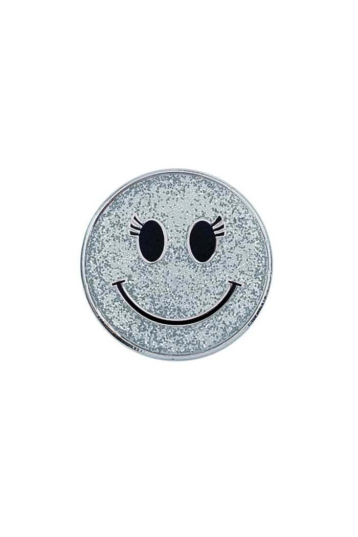 Picture of Surprizeshop ZNS Individual Ball Marker - Silver Smiley Face