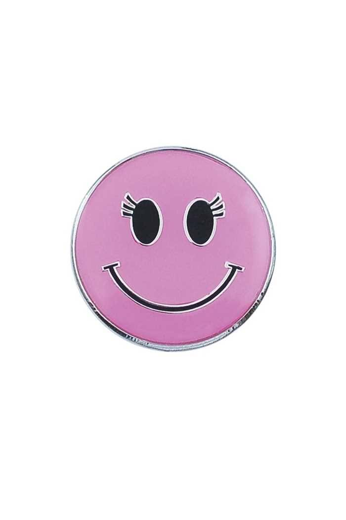Picture of Surprizeshop Individual Ball Marker - Pink Smiley Face