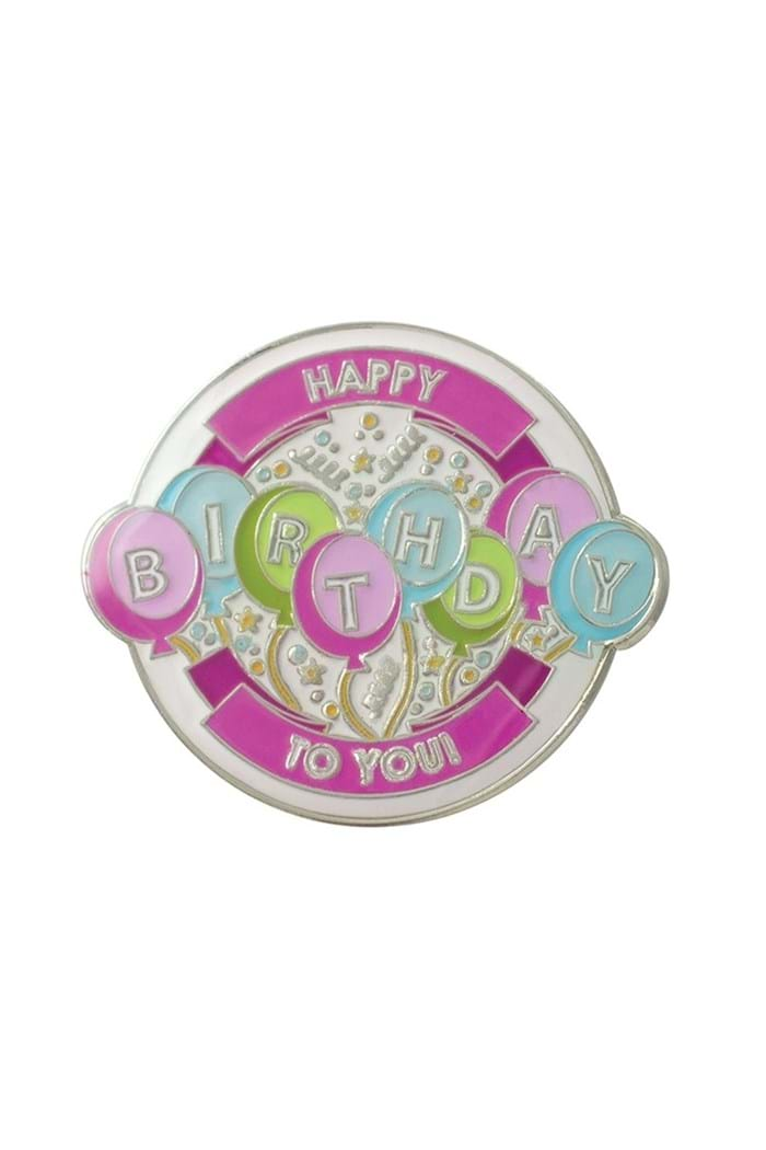 Picture of Surprizeshop Individual Ball Marker - Happy Birthday