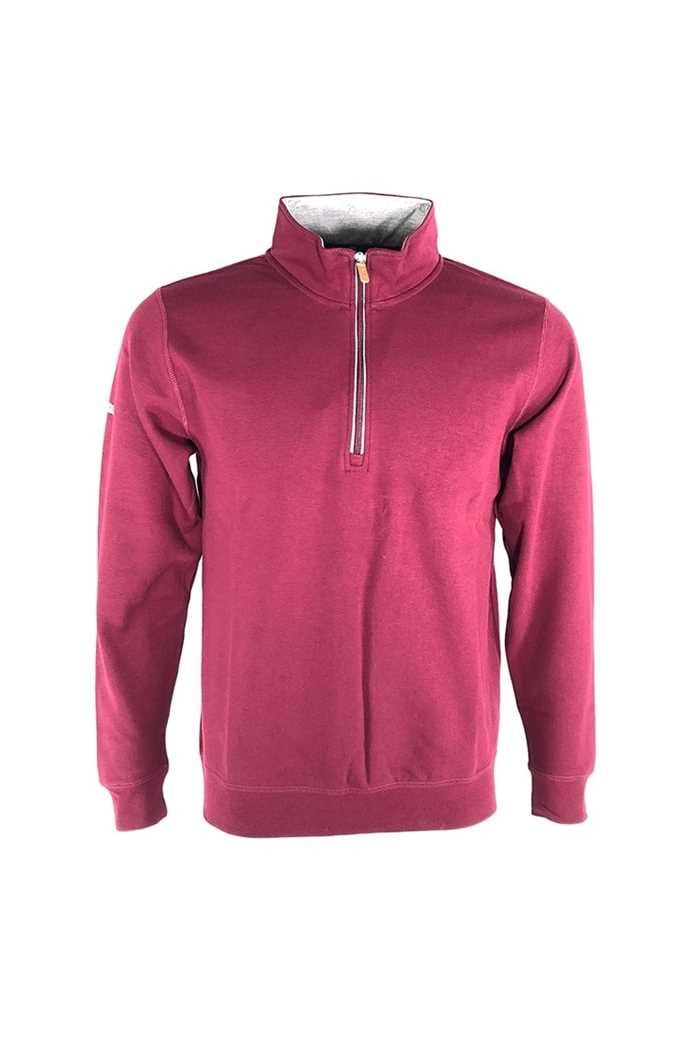Picture of Proquip Mistral 1/4 Zip Sweater - Wine