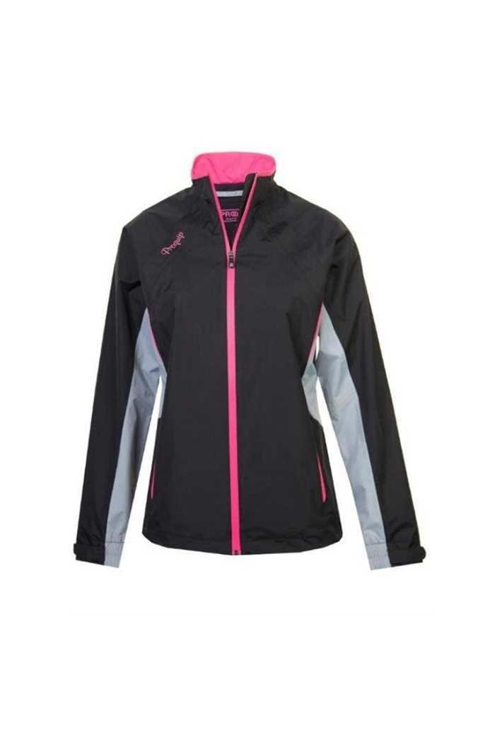 Picture of Proquip zns Aquastorm Ebony Waterproof Jacket - Black / Dove Grey