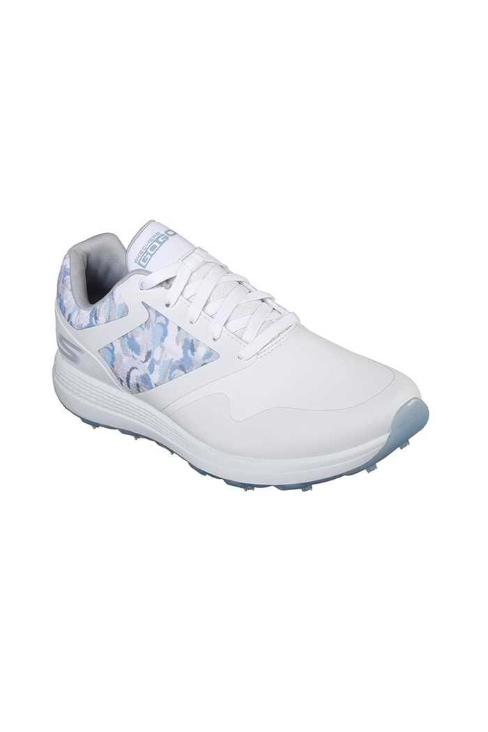 Picture of Skechers Ladies Go Golf Max Draw Golf Shoes - White / Blue