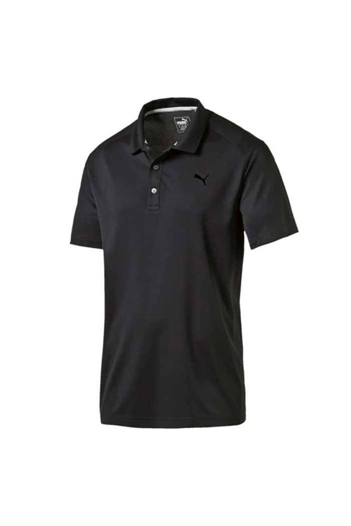 Picture of Puma Golf  ZNS Pounce Polo Shirt - Black