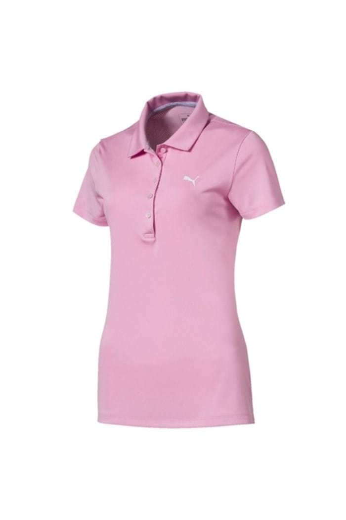 Picture of Puma Golf Women's Pounce Polo Shirt - Pale Pink
