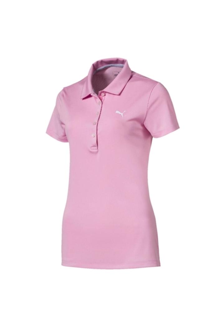 a957e63c Puma Golf Women's Pounce Polo Shirt - Pale Pink - Puma Golf - Eureka ...