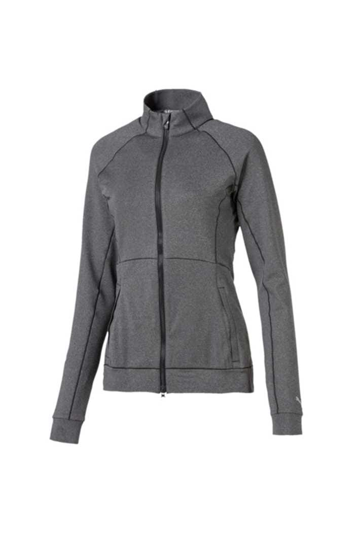 Picture of Puma Golf Women's Vented Jacket - Dark Grey Heather