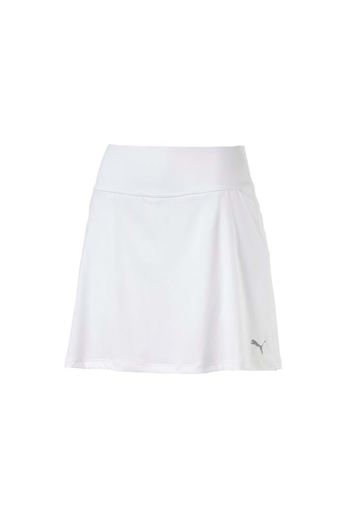 Picture of Puma Golf Women's PWRShape Solid Knit Skirt - Bright White
