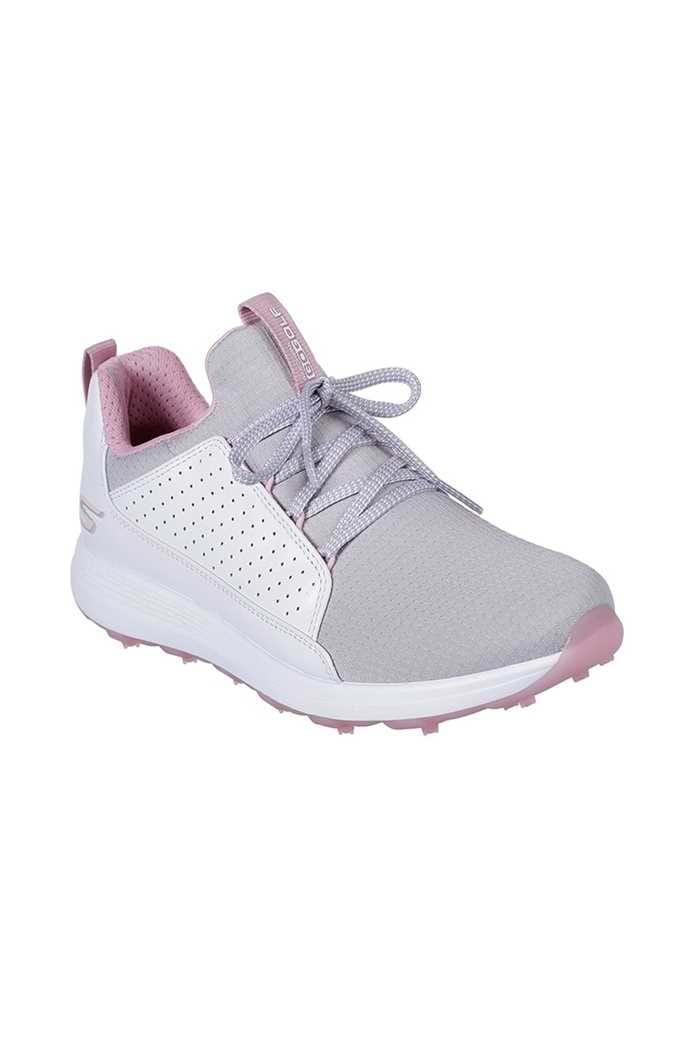 Picture of Skechers ZNS Ladies Go Golf Max Mojo Golf Shoes - White / Grey / Pink