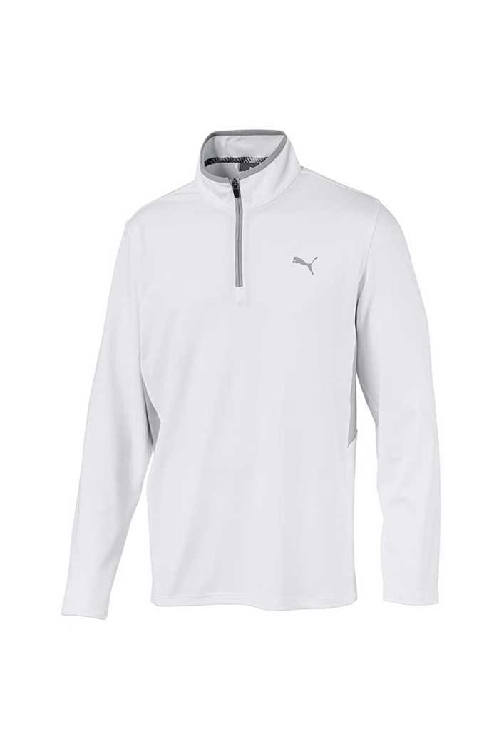 Picture of Puma Golf Men's Rotation 1/4 Zip - Bright White